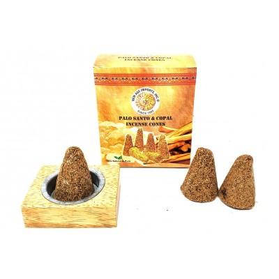 RL Organic Palo Santo & Peruvian Copal Incense Cone 塔香6粒連木塔香座