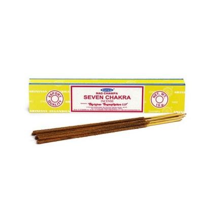 RL Organic Nag Champa Seven Chakra Incense 七輪香枝12pcs