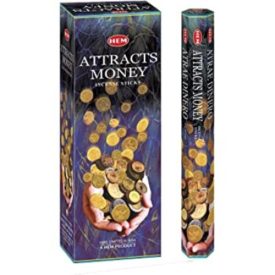 RL Organic Hem Attract Money Incense Sticks 吸財香枝20pcs