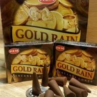 RL Organic Hem Gold Rain Incense Cones 黃金雨塔香10粒