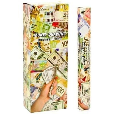 RL Organic Kamini Money Drawing Incense Sticks 賺錢香枝 20pcs