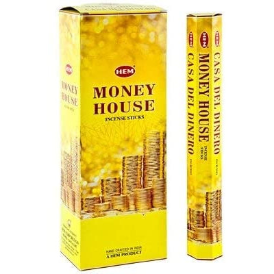 RL Organic Hem Money House Incense Sticks 財富屋香枝20pcs