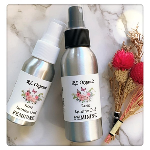 RL Organic Purifying Spray Feminine ~ Rose / Jasmine / Oud 50/100ml