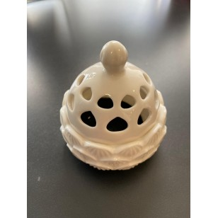 RL Organic 陶瓷迷你香爐(白/黑金)