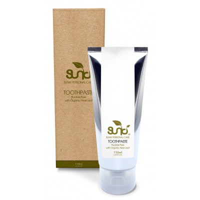 Sunki Fluoride Free Toothpaste with Organic Aloe Leaf 110g