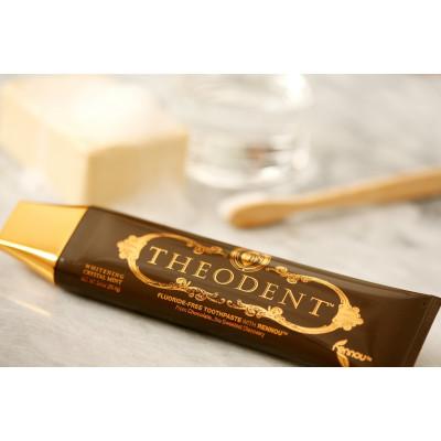 Theodent CLASSIC Whitening Crystal Mint 天然琺瑯質增生美白牙膏  96.4g
