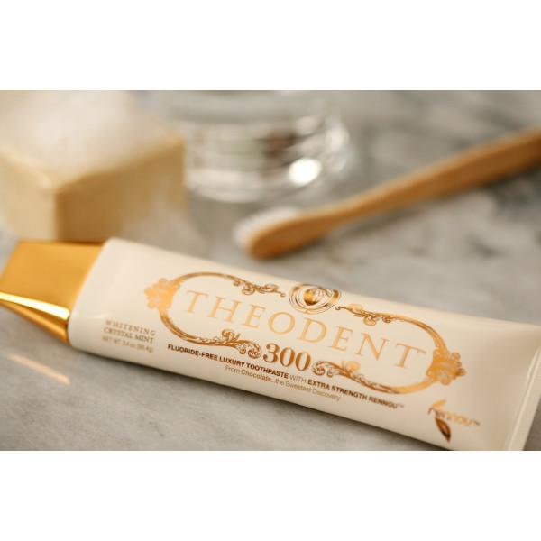 Theodent 300 Whitening Crystal Mint 天然琺瑯質300倍增生美白牙膏 96.4g