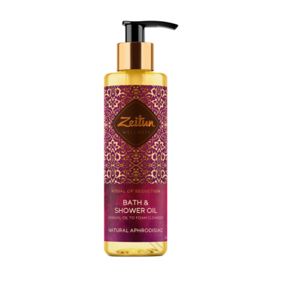 "Zeitun Shower Oil 沐浴油 ""Ritual of Seduction"" Anhrodisiac 茉莉依蘭 200ml"