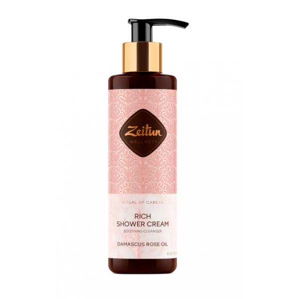 "Zeitun Shower Cream ""Rital of Caress"" 大馬士革玫瑰沐浴乳 250ml"