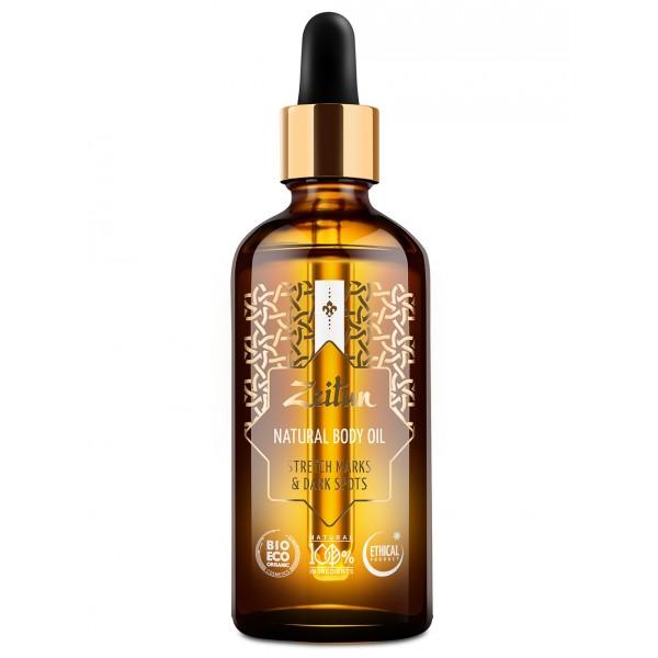 Zeitun 檸檬小麥胚芽 Body Oil (祛印淡紋) 100ml