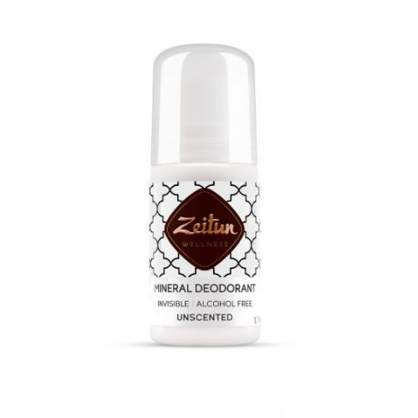 Zeitun 天然止汗液 Roll-On Unscented (適合敏感肌) 50ml