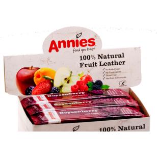 New Zealand 100% Apple Fruit Bar 紐西蘭蘋果水果肉條 Annie's Fruit Bar - 30g 味 5 個口味供選擇