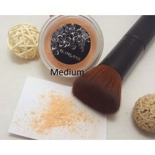 Mineral Rice Powder 礦物大米碎粉 5gram - Light / Medium 連乾濕粉兩用掃套裝