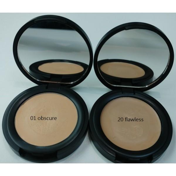 天然有機遮瑕霜 (Obscure - light to medium skin tones / Flawless - medium warm)